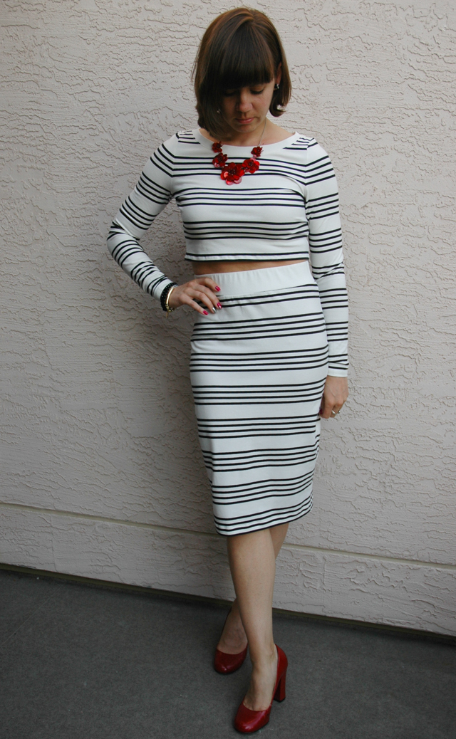 Striped Outfit 1