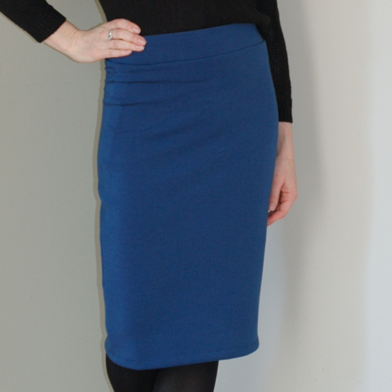 DIY Scuba Pencil Skirt