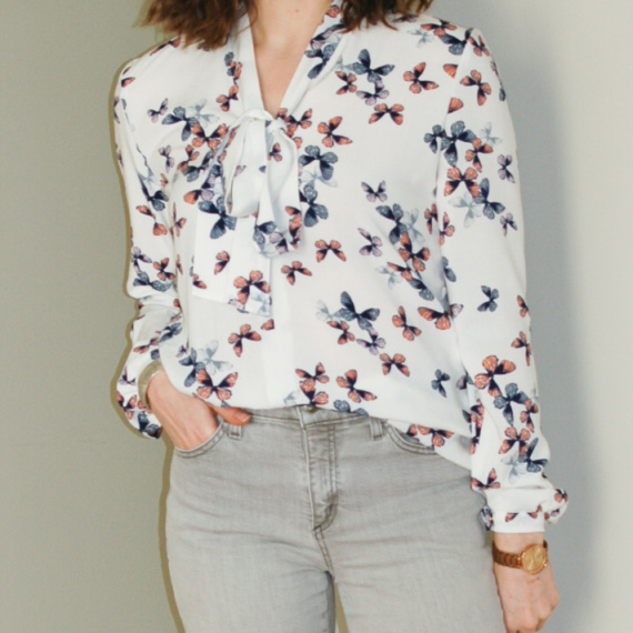 Sew Over It – Pussy Bow Blouse #2