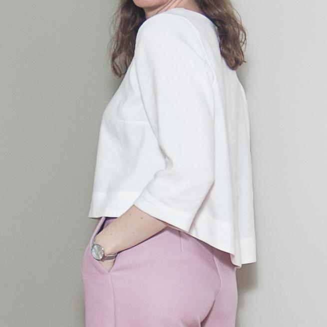Blackbird Fabrics Linen Blends and Grainline Hadley Review