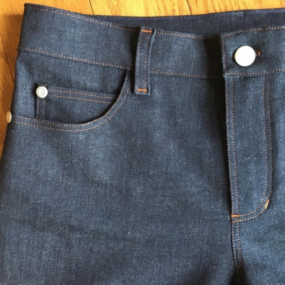 Ginger Jeans Take 2 – An Experiment in Stretch