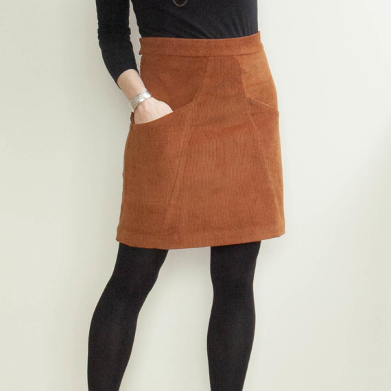 Blueprints for Sewing – A Frame Skirt
