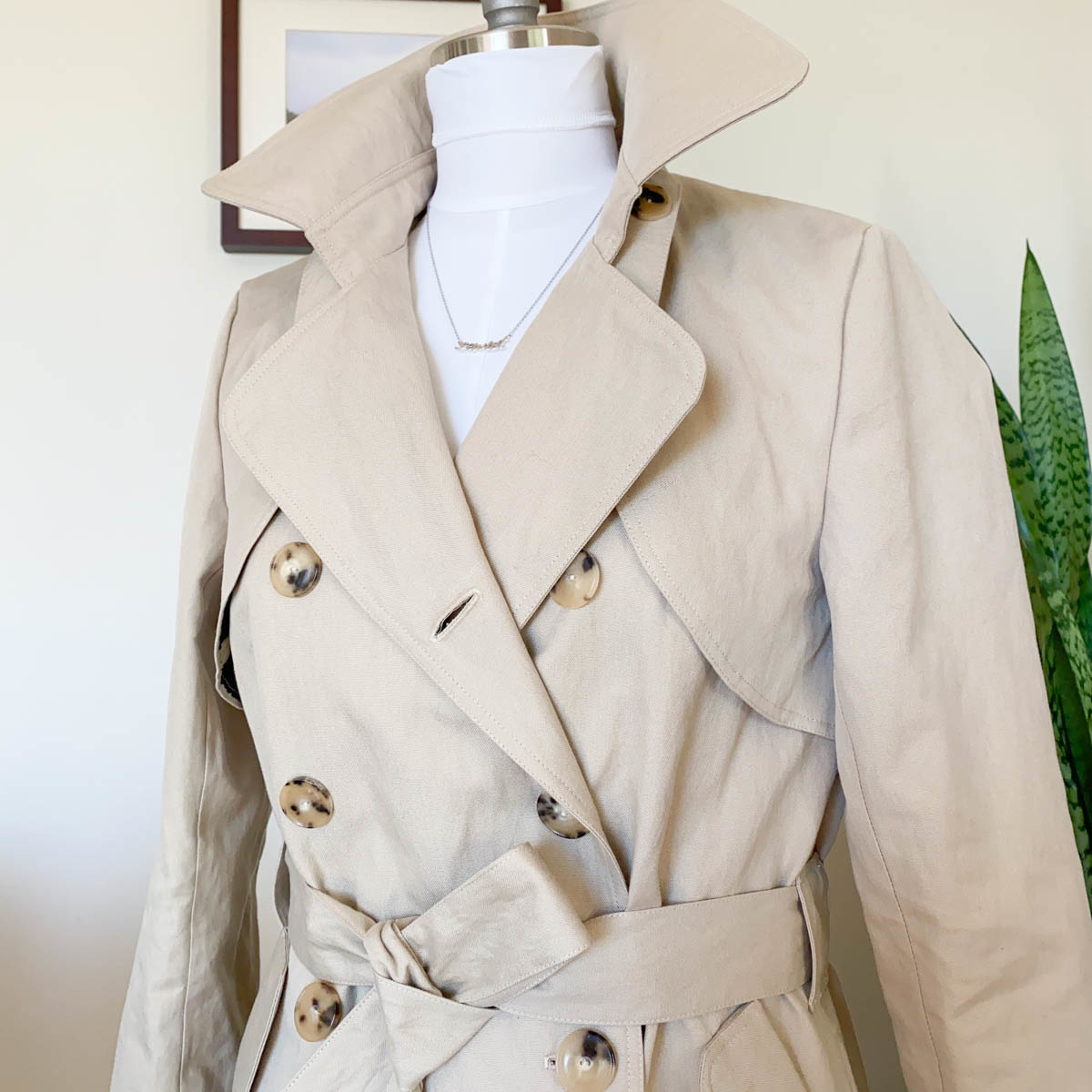 Named Clothing – Isla Trench Coat