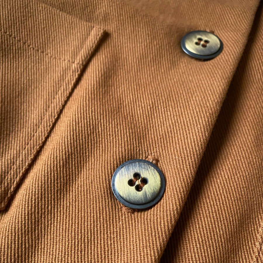 Close up of the buttons