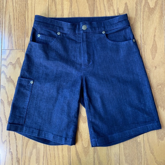 Shorts – but only because I had to